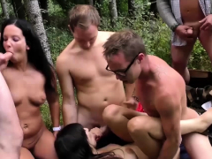 real-german-outdoor-swinger-party