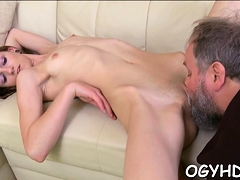 Charming Russian Young Honey Adores Taste Of Cum