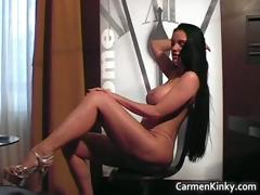Hooters Carmen Breeding Her Fun Vagina Part6