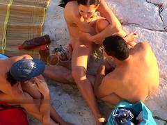 Amazing Naked Teens At Nudist Beach Spyied By Voyeur