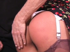 Dishy maid aches for a fuck