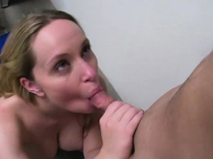 Dominant chick gives her man a lesson