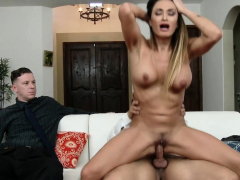 Wife Claudia Valentine Bounces On A Cock
