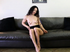 Amazing girl with an incredible ass gets naughty