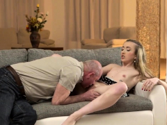 Daddy4k. Lucky Old Man Receives Blowjob And Fucks