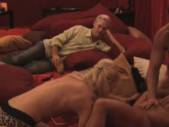 A swinger orgy full of horny couples and naked hot bodies.