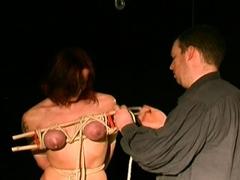 Impure minded beauties are asking for nipple torture