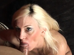 carla craves sucking on a big cock