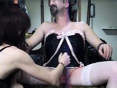 bdsm femdom handjob orgasm