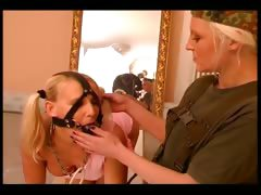 Cute Slave Girl Getting Analized