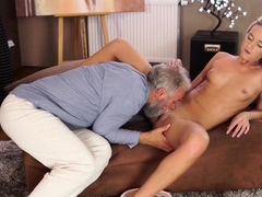 Old4k. Pretty Blonde With Perfect Body Makes