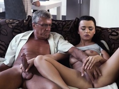 Old Man Sex And Daddy Fingering Partner' Friend's