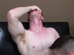 Male straight hunk exhibitionist and guys masturbating