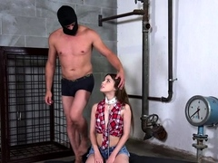Attractive russian young Elle Rose gets fucked deep