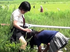 urinating-asian-teenagers-followed