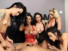 RAw Brazilian Transsexual Orgy