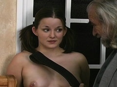 Shameless hottie is playing with her rubber sex toy