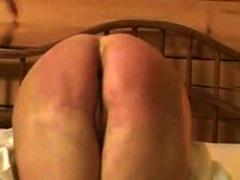 hard round mature butt hard punished
