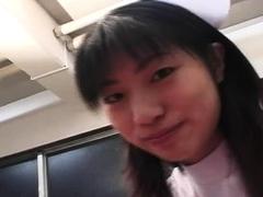 Horny asian amateur couple voyeur