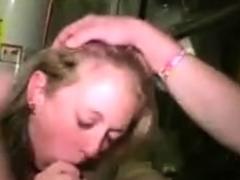 Deepthroat Voyeur bigcock cutey blowjob