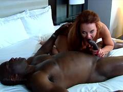 Interracial Milf Creampie Sex