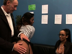 Spanked And Fingered Romana Ryder And Jasmine Webb 4K Clip