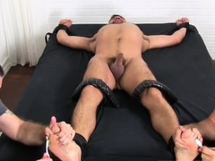 Mature sucks twinks toes while he fucks him and gay takes