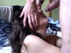 arab cum shot on face