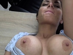 Divine beauty sucking and riding in style
