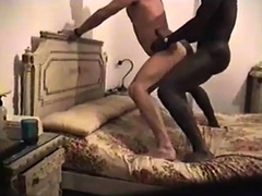 interracial-fuck-standing-on-the-bed