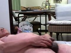 japanese-old-man-masturbation-erect-penis