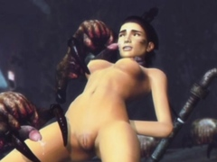 3d-girls-pulverized-by-evil-creatures
