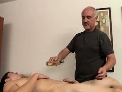 Lance Bennett Massaged