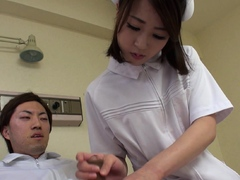 japanese-nurse-reina-wamatsu-rubs-dick-uncensored