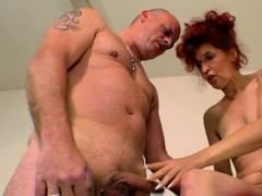 german-ugly-skinny-mature-redhead-housewife