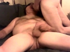 Grandpa is blind folded while I suck his cock old young