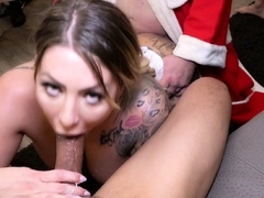 german bbw tattoo model mia blow rough christmas gangbang