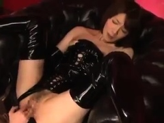 Japanese amateur Asian in lingerie fucked in high def