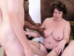grannies in group fuck