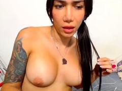 Marjorie Romao shemale fucks girl video