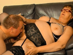 AmateurEuro - German granny needs a hard cock up her mature