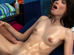 Engaging brunette Emily Grey gets penetrated deep