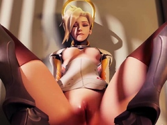 Video Games Girls with Big Juicy Booty Gets Fuck