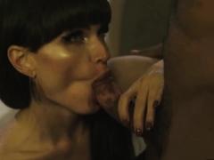 Tgirl Natalie Mars interracial anal sex