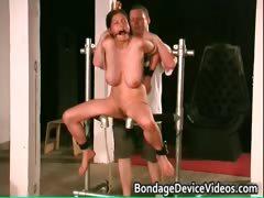 Busty Brunette Babe Is Sex Slave Part4