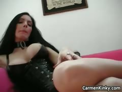 Kinky School Teacher Carmen Play Weird Part5